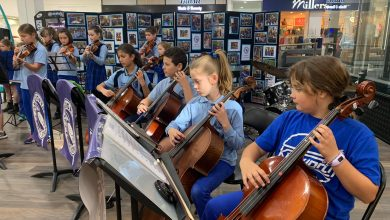 Photo of Kegworth Music Takes Over Marketplace