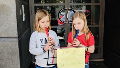 Photo of Kegworth Kids Busk For Trees