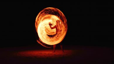 Photo of Halloween Fire Dancing Comes To Leichhardt