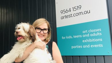 Photo of Pets of Kegworth: Ruben the Art Dog